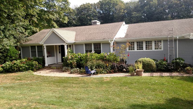 Exterior Trim Painting in Branford, CT