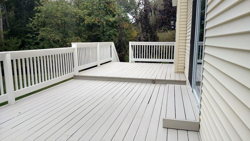 Deck Painting in Guildford, CT